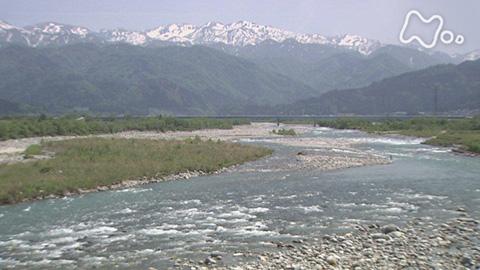 小さな旅「清き流れ 里潤し~富山県 黒部川~」