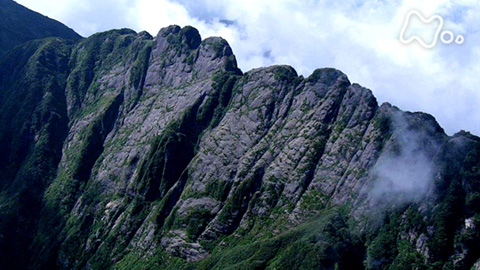 小さな旅シリーズ山の歌 夏 「岩峰 越えて~新潟県 八海山~」
