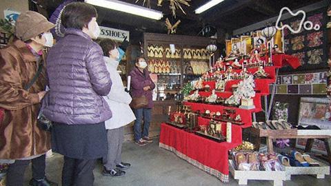 小さな旅「ひなの町 華やいで~茨城県 桜川市~」