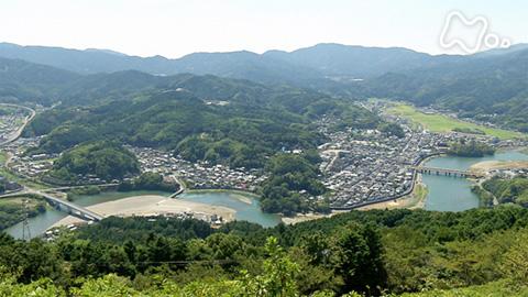小さな旅「曲がりの川 きらめく~愛媛県 肱川~」